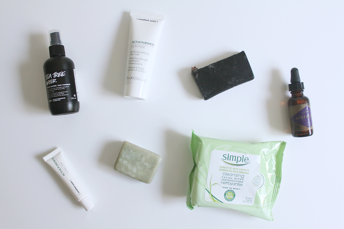 7 Products for cleaner, better skin | via Teacups & Things