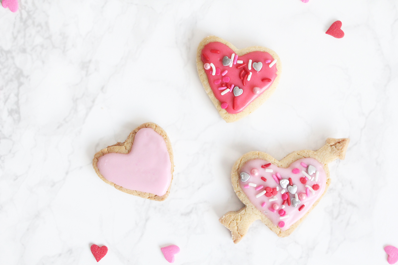 Recipe: Easy Valentine's Day Cookies (Gluten-Free)