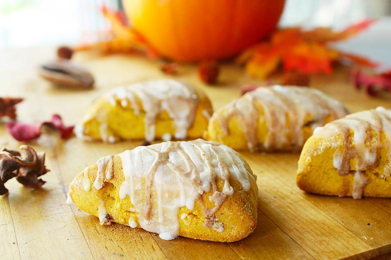 Pumpkin Spice Scones (Gluten-free)