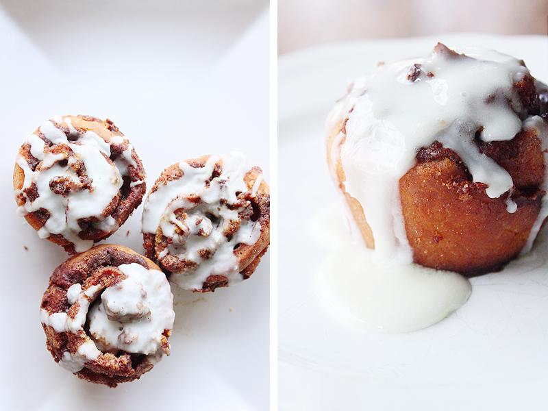 Gluten Free Cinnamon Rolls via Miss Kait Online