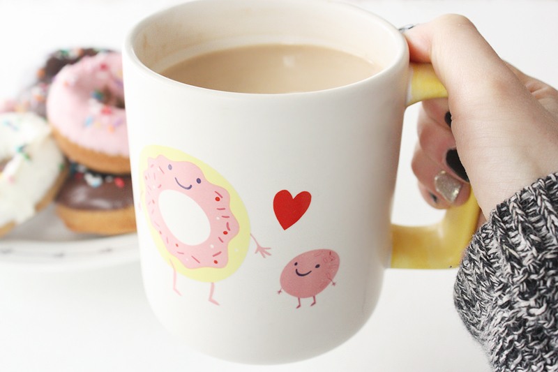 Target donut coffee mug | Teacups & Things
