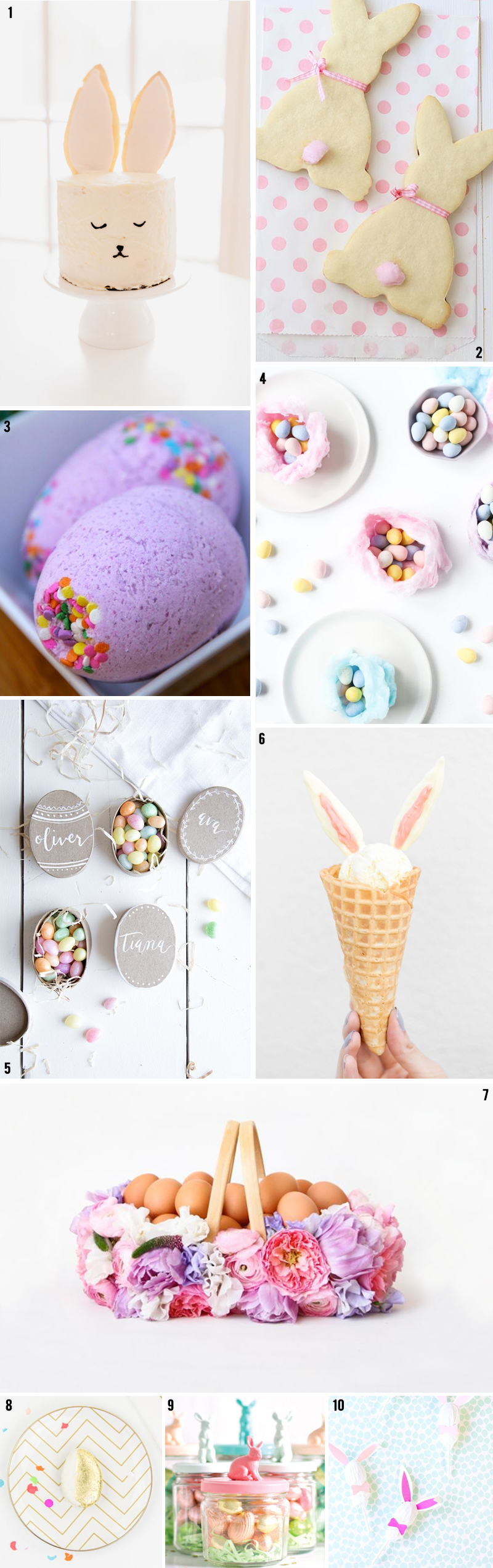 10 great Easter themed DIYs from around the Internet!