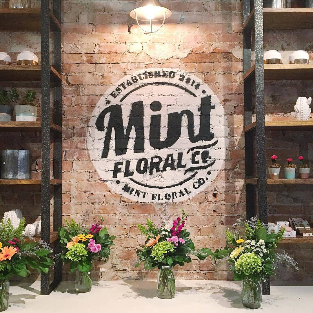 Shop Local: Mint Floral Co in downtown Whitby, Ontario, Canada | via Teacups & Things