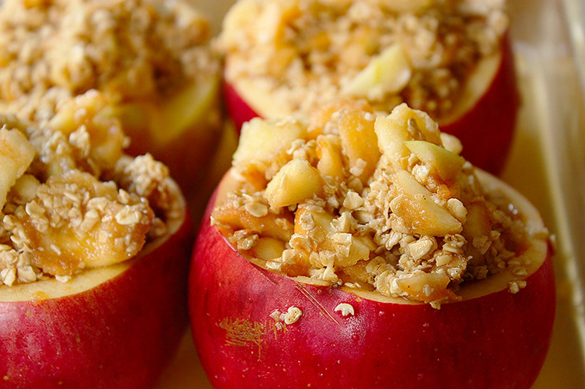 Recipe: Stuffed Baked Apples and Apple Crisp