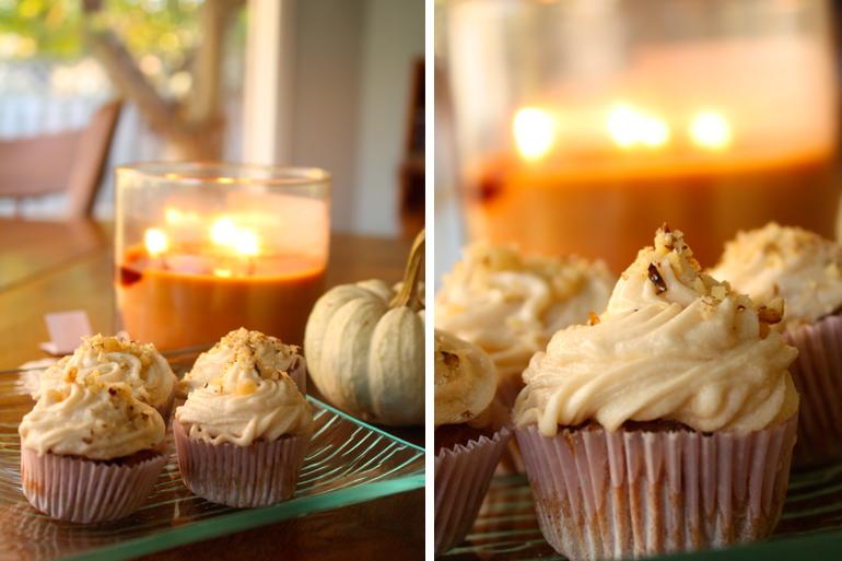 Recipe: Gluten-Free Pumpkin Chai Cupcakes