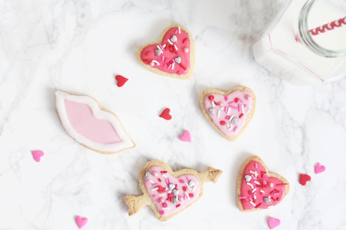 Recipe: Easy Valentine's Day Cookies (Gluten-Free)