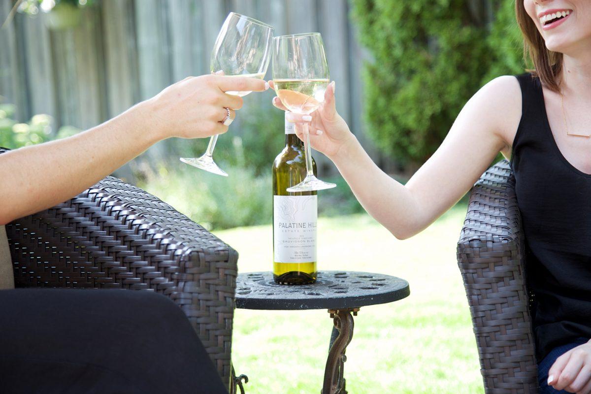 "Did someone say ""Wine""? Palatine Hills – 2015 Sauvignon Blanc"