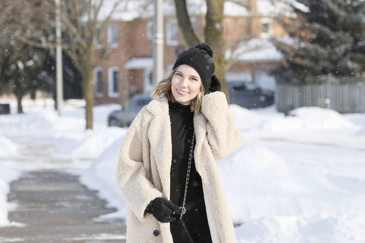Winter trends:the teddy coat