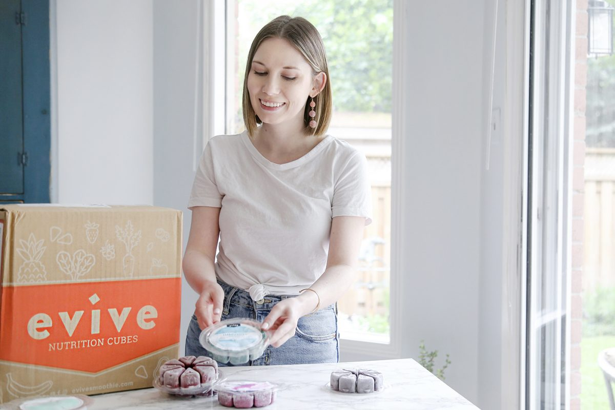 I tried Evive Smoothies for the first time! – first impressions + a coupon code