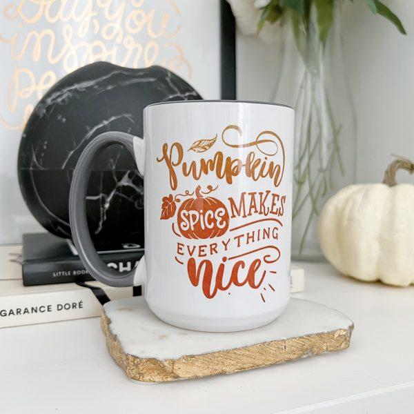 Cozy fall vibes with the Cricut Mug Press – DIY sublimation mugs